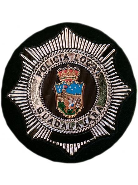 Policía Local Guadalajara parche insignia emblema distintivo de pecho