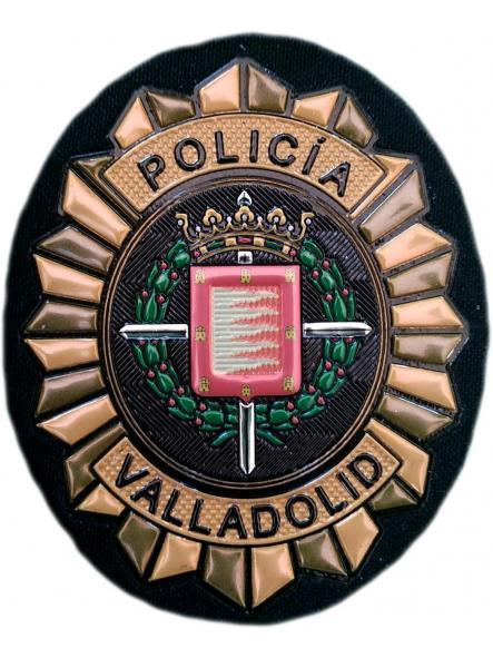 Policía Local Valladolid parche insignia emblema distintivo de pecho