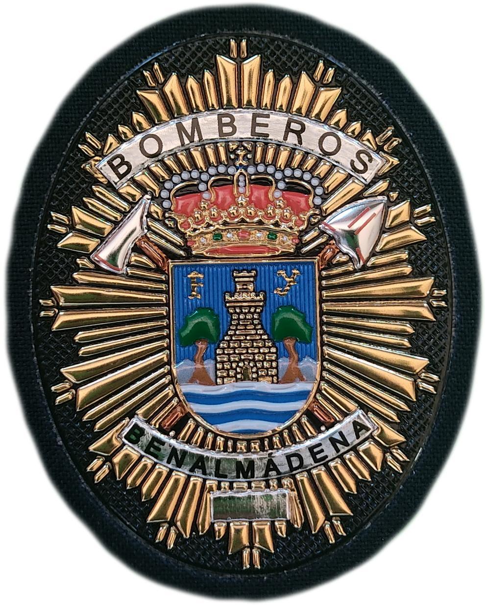 Bomberos de Benalmádena parche insignia emblema distintivo de pecho