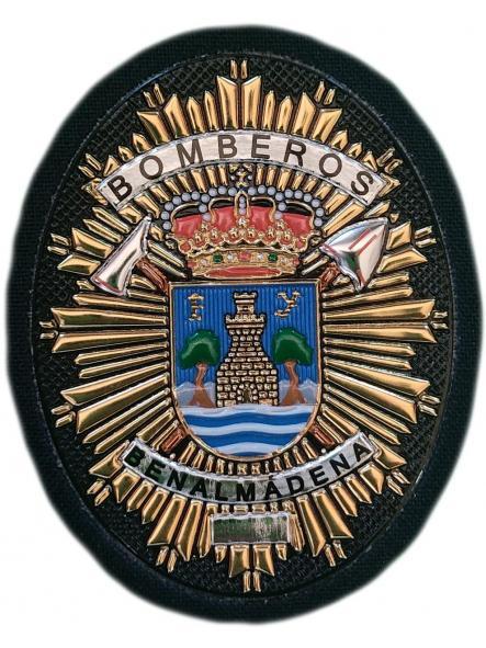 Bomberos de Benalmádena parche insignia emblema distintivo de pecho  [0]
