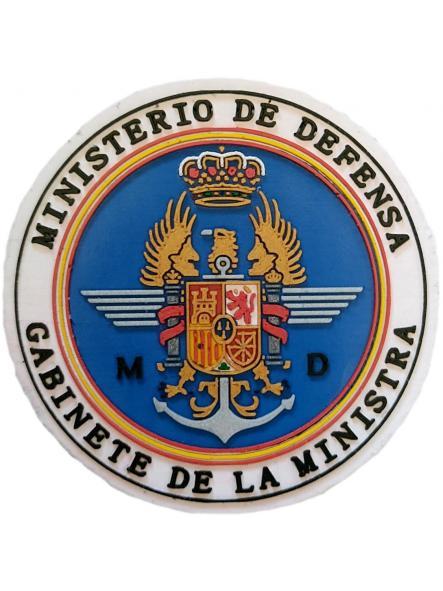 Ministerio de Defensa Gabinete de la Ministra tierra armada aire parche insignia emblema distintivo