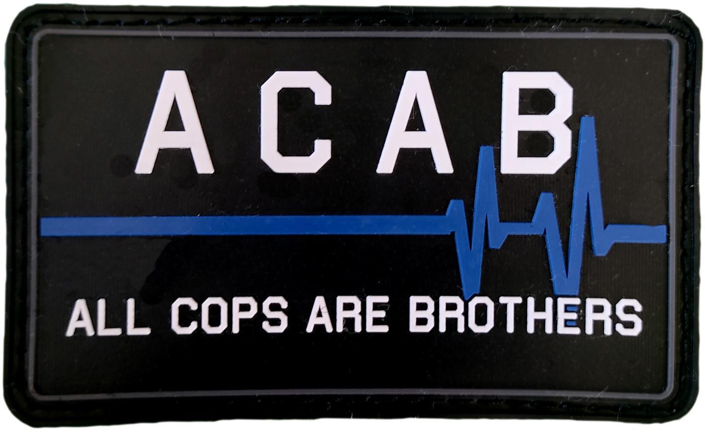 Policía nacional Local Foral Mossos Ertzaintza Guardia civil ACAB All cops are brothers parche insignia emblema distintivo