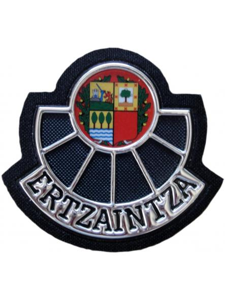 Ertzaintza Policía país vasco Euskadi parche insignia emblema distintivo