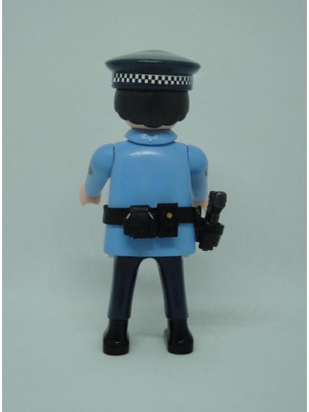 Playmobil personalizado policía guardia urbana de Barcelona uniforme modelo años 90 hombre [1]