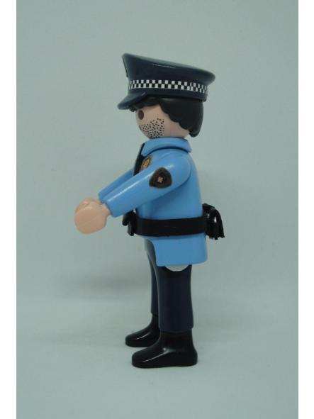 Playmobil personalizado policía guardia urbana de Barcelona uniforme modelo años 90 hombre [3]