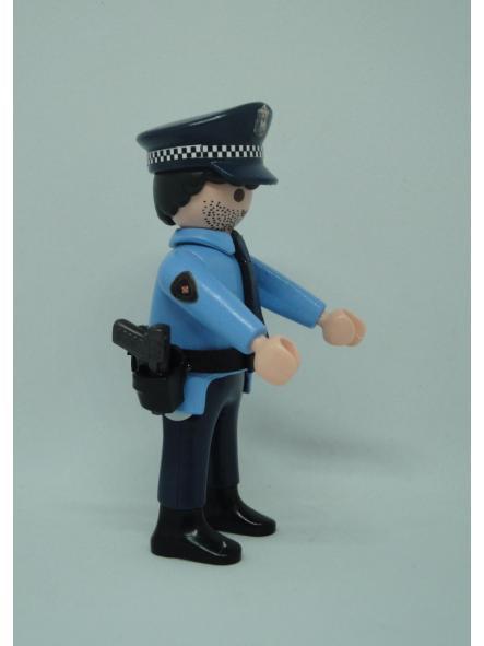Playmobil personalizado policía guardia urbana de Barcelona uniforme modelo años 90 hombre [2]