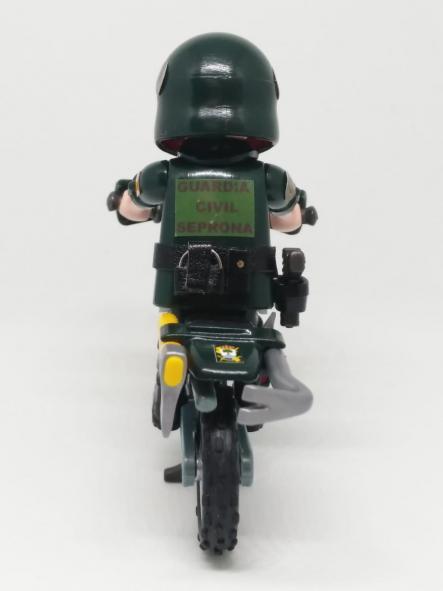 Playmobil personalizado Guardia civil SEPRONA servicio de protección de la naturaleza en moto elige hombre o mujer [2]