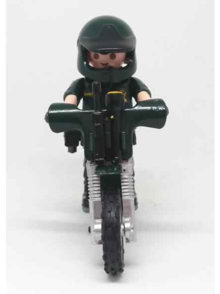 Playmobil personalizado Guardia civil SEPRONA servicio de protección de la naturaleza en moto elige hombre o mujer [3]