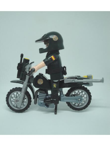 Playmobil personalizado Guardia civil SEPRONA servicio de protección de la naturaleza en moto elige hombre o mujer [1]