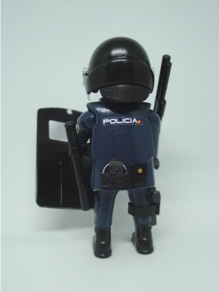 Playmobil personalizado uniforme UIP antidisturbios unidad de intervención Policía nacional CNP hombre  [1]
