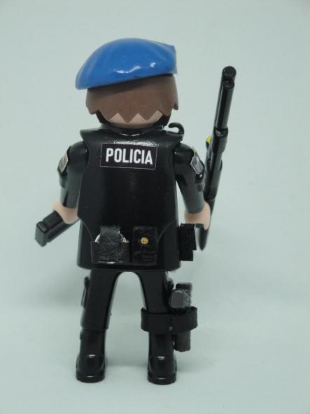 Playmobil personalizado Policía nacional CNP Goes grupo operativo especial de seguridad swat team hombre [1]