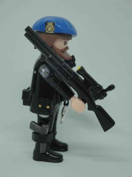 Playmobil personalizado Policía nacional CNP Goes grupo operativo especial de seguridad swat team hombre [2]