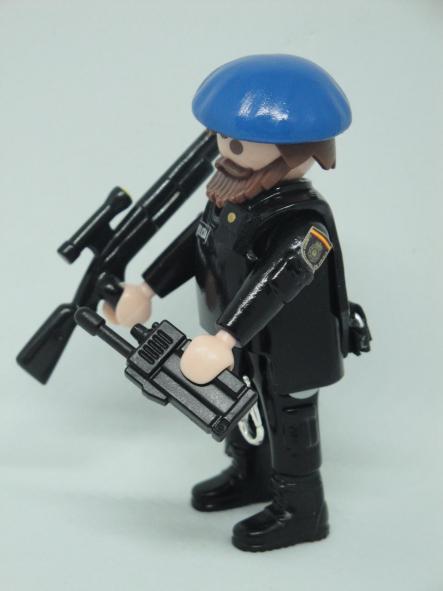 Playmobil personalizado Policía nacional CNP Goes grupo operativo especial de seguridad swat team hombre [3]