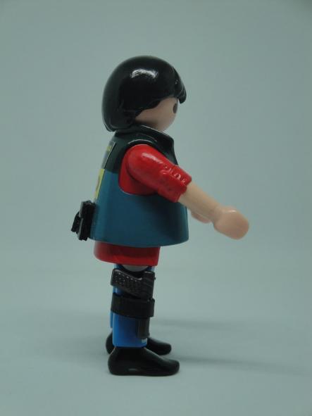 Playmobil personalizado Guardia civil UCO unidad central operativa hombre [3]
