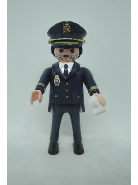 Playmobil personalizado Policía nacional CNP uniforme de gala hombre