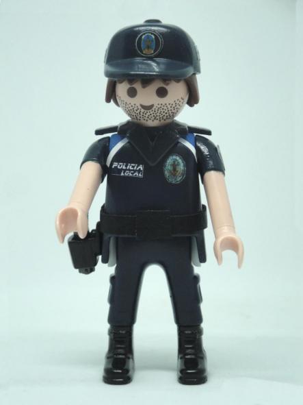 PLAYMOBIL PERSONALIZADO UNIFORME POLICIA LOCAL ALEDO REGIÓN DE MURCIA HOMBRE