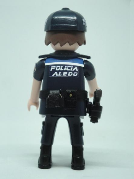 PLAYMOBIL PERSONALIZADO UNIFORME POLICIA LOCAL ALEDO REGIÓN DE MURCIA HOMBRE [1]