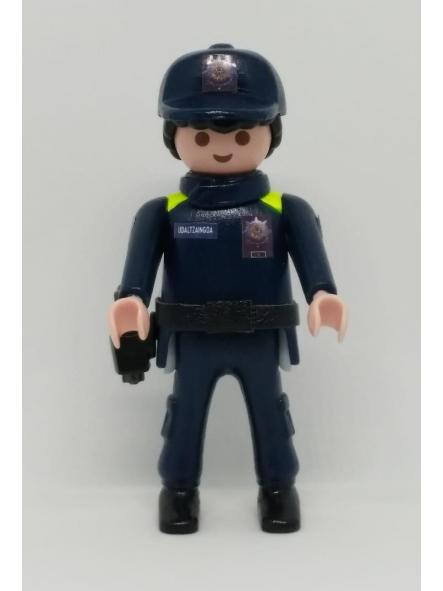 Playmobil personalizado Uniforme Policía Local Udaltzaingoa de Durango Hombre