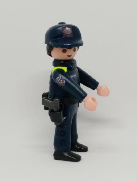 Playmobil personalizado Uniforme Policía Local Udaltzaingoa de Durango Hombre [3]