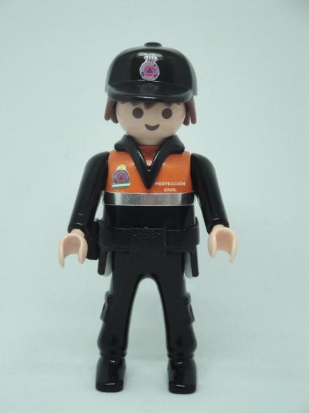 Playmobil personalizado Uniforme Protección Civil Andalucía Hombre