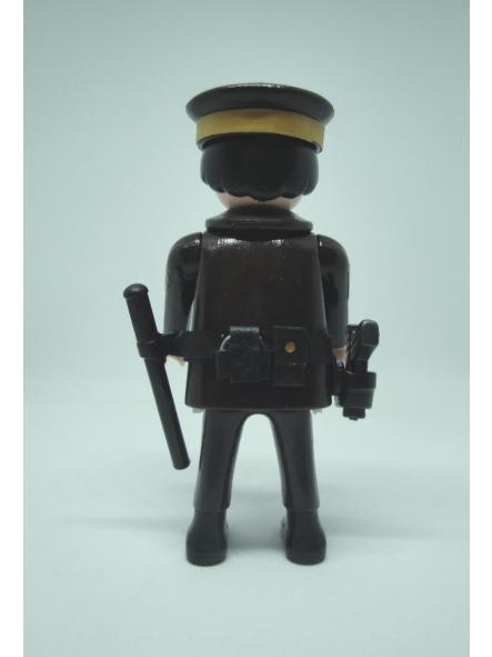 Playmobil personalizado Policía Nacional uniforme marrón maderos hombre [0]
