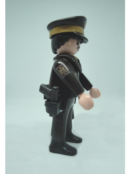 Playmobil personalizado Policía Nacional uniforme marrón maderos hombre [3]