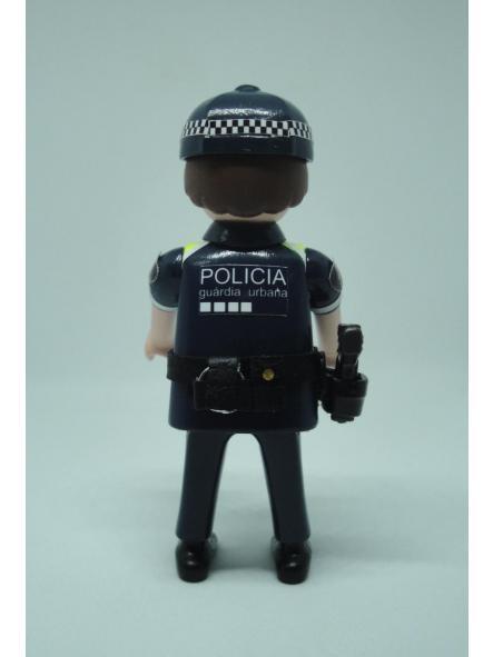 Playmobil personalizado con uniforme de la guardia urbana de Barcelona hombre [1]