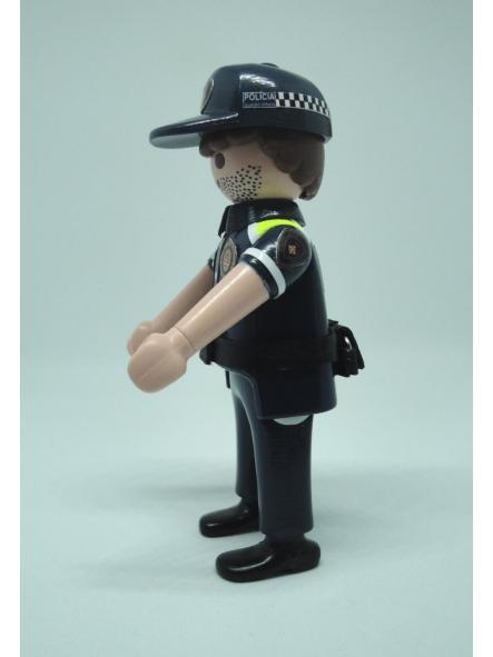Playmobil personalizado con uniforme de la guardia urbana de Barcelona hombre [2]