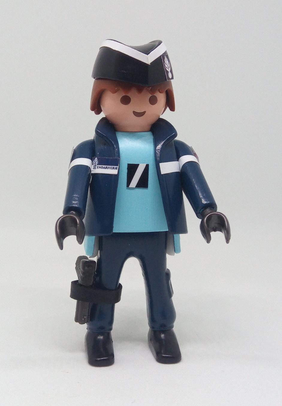 Playmobil personalizado uniforme con chaqueta Gendarmerie Francia hombre