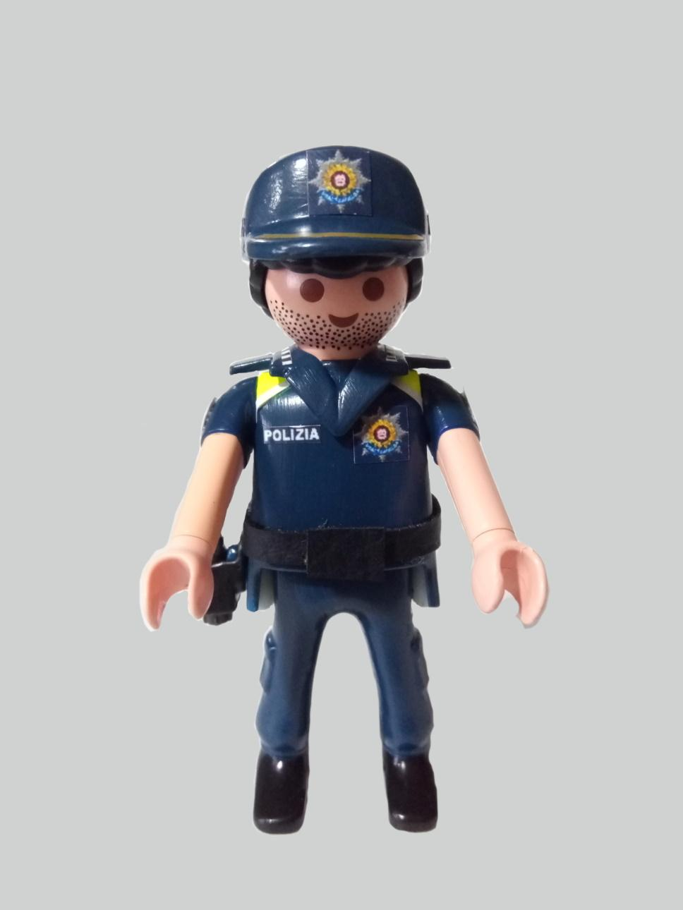 Playmobil personalizado Uniforme Policía Local Udaltzaingoa de Getxo Hombre