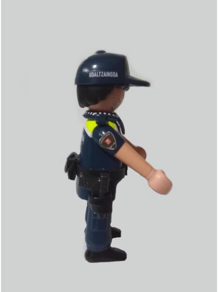 Playmobil personalizado Uniforme Policía Local Udaltzaingoa de Getxo Hombre [2]