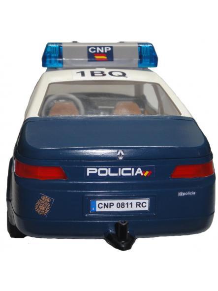 Playmobil Coche Zeta personalizado con los distintivos de la Policía nacional CNP de España [1]