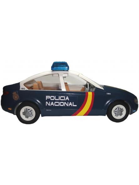 Playmobil Coche Zeta personalizado con los distintivos de la Policía nacional CNP de España [2]