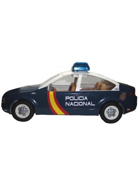 Playmobil Coche Zeta personalizado con los distintivos de la Policía nacional CNP de España [3]