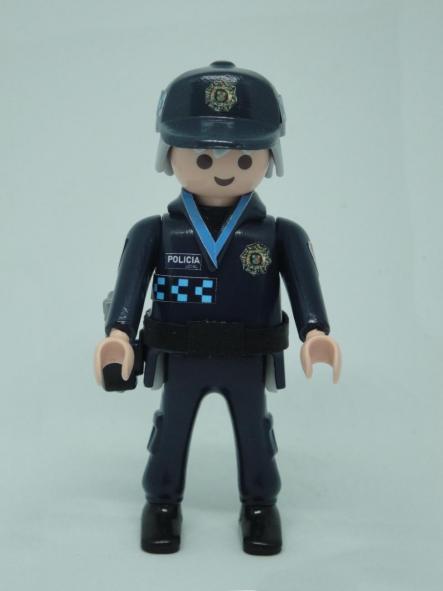 Playmobil personalizado uniforme policía local castilla la mancha campo de criptana hombre