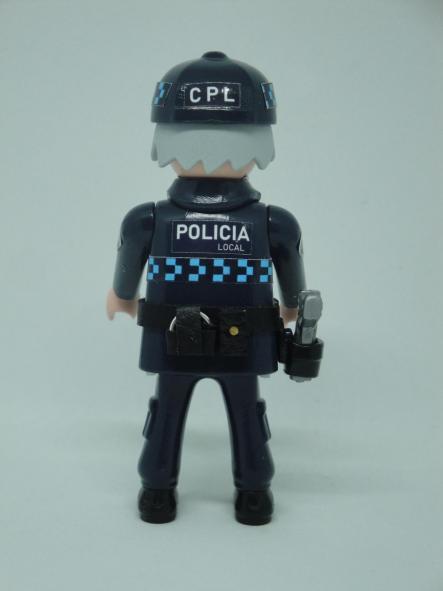 Playmobil personalizado uniforme policía local castilla la mancha campo de criptana hombre [1]