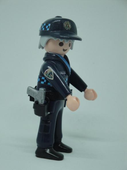 Playmobil personalizado uniforme policía local castilla la mancha campo de criptana hombre [2]