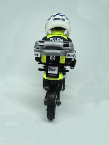 Playmobil personalizado Policía Local Vitoria patrulla con moto elige hombre o mujer [1]