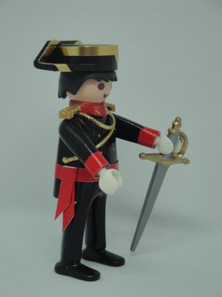 Playmobil personalizado con uniforme gala fajín y espada de la guardia civil hombre [1]