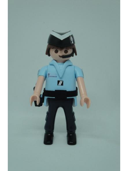 Playmobil personalizado uniforme de verano Gendarmerie Francia hombre