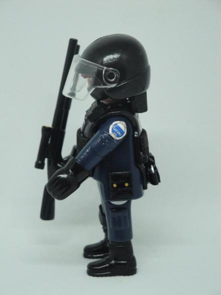 Playmobil personalizado con uniforme del GIGN de la Gendarmerie francesa swat team hombre [2]