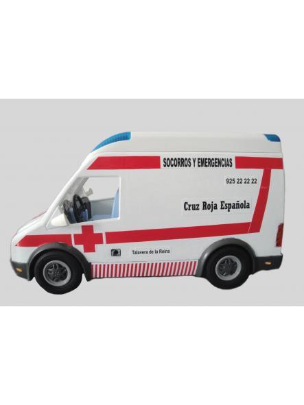 Ambulancia Playmobil personalizada con los distintivos de la Cruz Roja Española - Pídelo con los distintivos de tu población [2]
