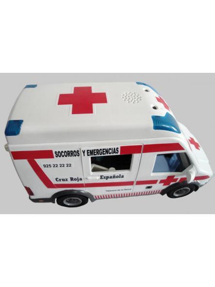 Ambulancia Playmobil personalizada con los distintivos de la Cruz Roja Española - Pídelo con los distintivos de tu población [3]