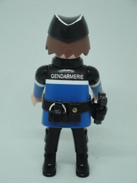 Playmobil personalizado con uniforme de Gendarmerie francesa hombre [1]