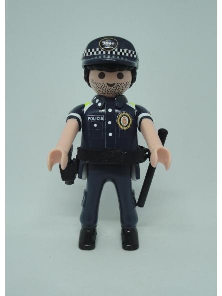 Playmobil personalizado con uniforme de la guardia urbana de Badalona hombre [0]