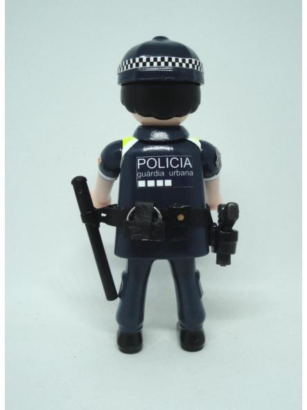 Playmobil personalizado con uniforme de la guardia urbana de Badalona hombre [1]