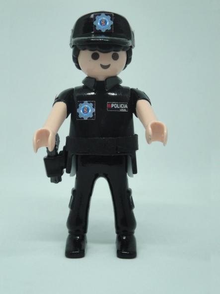 PLAYMOBIL PERSONALIZADO POLICÍA LOCAL DE CARTAGENA HOMBRE