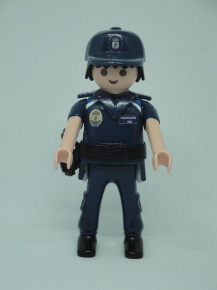PLAYMOBIL PERSONALIZADO CON UNIFORME DE LA POLICÍA LOCAL DE VIGO HOMBRE