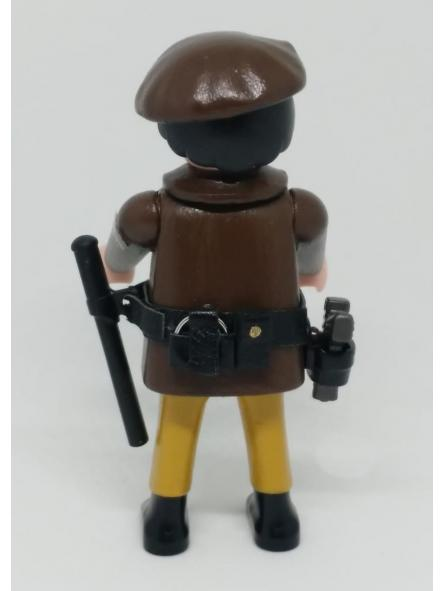 Playmobil personalizado Policía Nacional uniforme marrón con boina hombre [1]