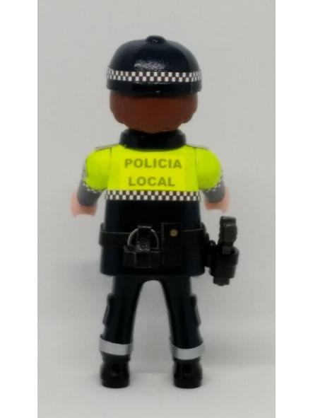 PLAYMOBIL PERSONALIZADO POLICÍA LOCAL UNIFORME MODELO ANDALUCÍA HOMBRE [1]